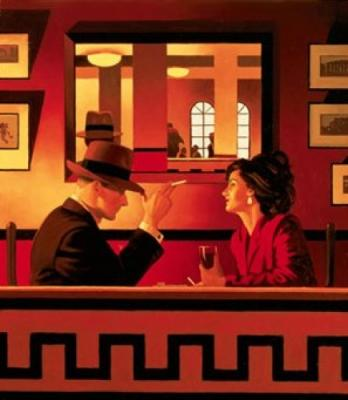 Jack Vettriano, Man in the Mirror