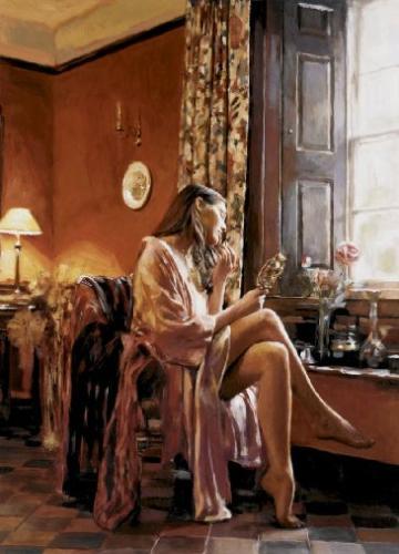 Rob Hefferan - Femme avec Miroir