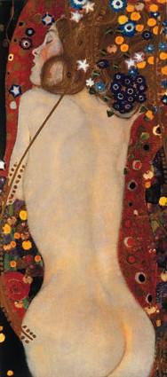 Sea Serpents IV - G. Klimt