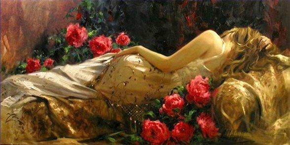 Rosa, di fiori di sposa
