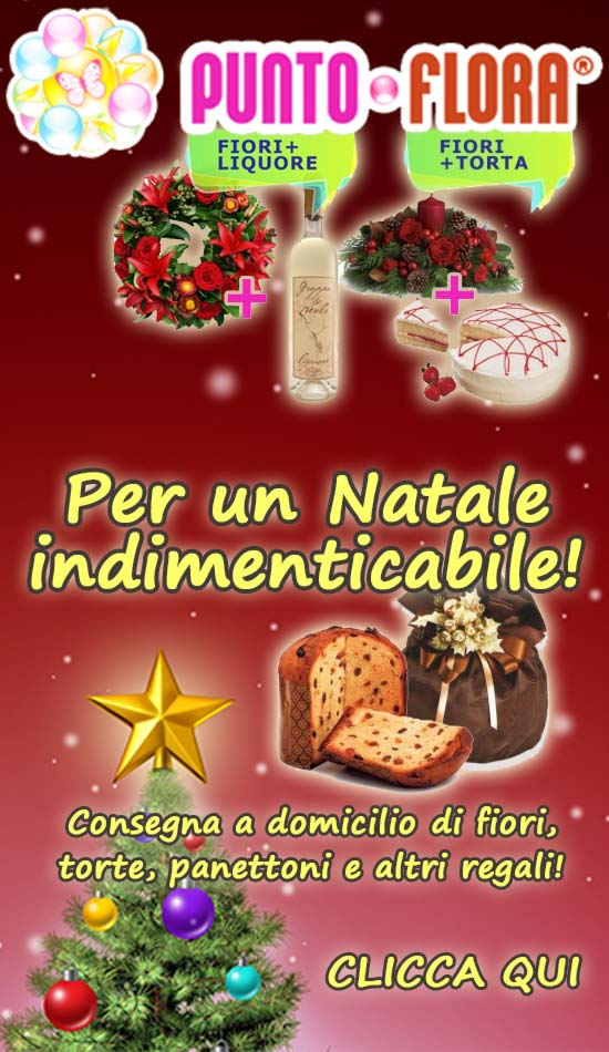 PuntoFlora - Offerte Natale