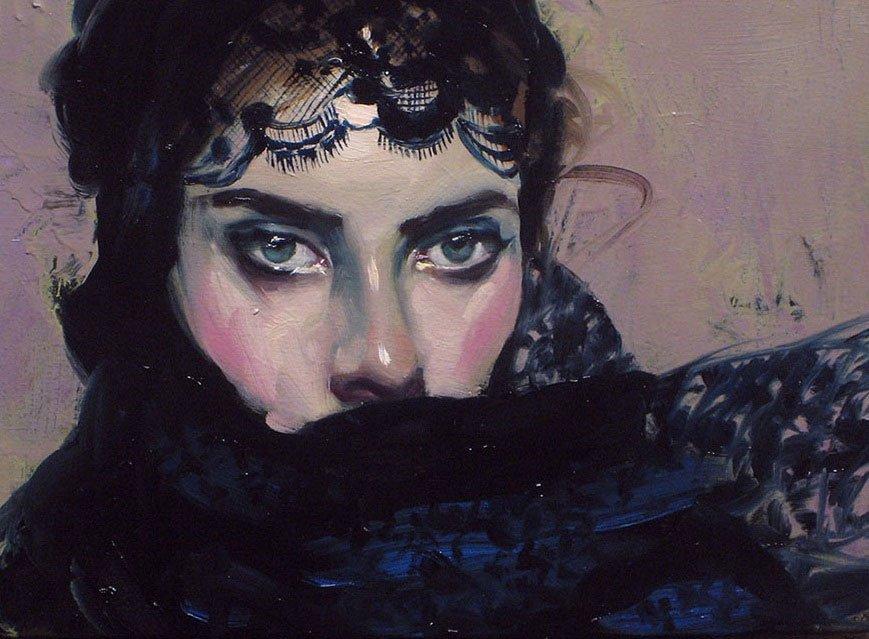 Dipinto di Malcolm T. Liepke