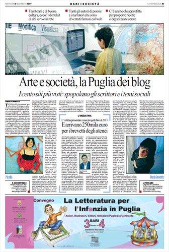 La Puglia dei Blog - La Repubblica