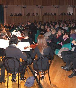 Premio Città di Cattolica, l'orchestra e il pubblico