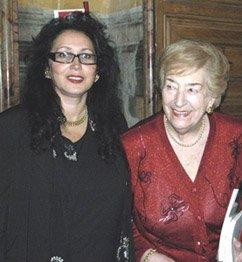 Nicla Morletti e Maria Luisa Spaziani