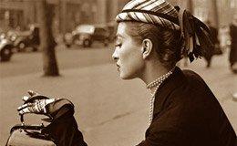 Capucine pour Elle, Bld de la Madeleine di Georges Dambier