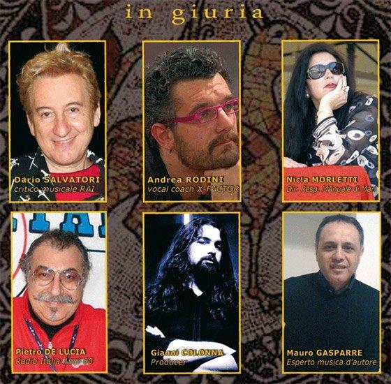 Cantautori Bitontosuite 2011 - La Giuria