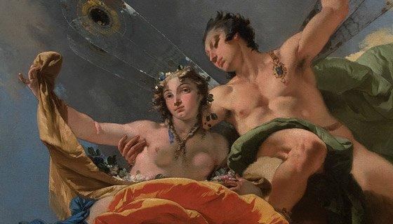 GiambattistaTiepolo - Zefiro e Flora, particolare