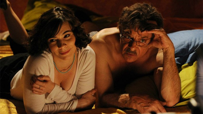 Giancarlo Giannini e Silvia De Santis