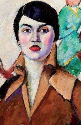 """Il'ja Maškov, """"Ritratto di signora in poltrona"""", 1913"""