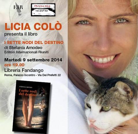 Licia Colò presenta I sette nodi del destino