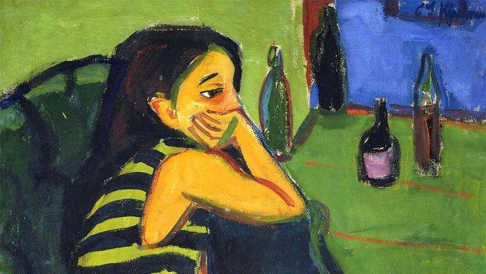 Female Artist Ernst - Ludwig Kirchner