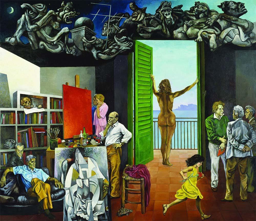 Renato Guttuso - Spes contra spem