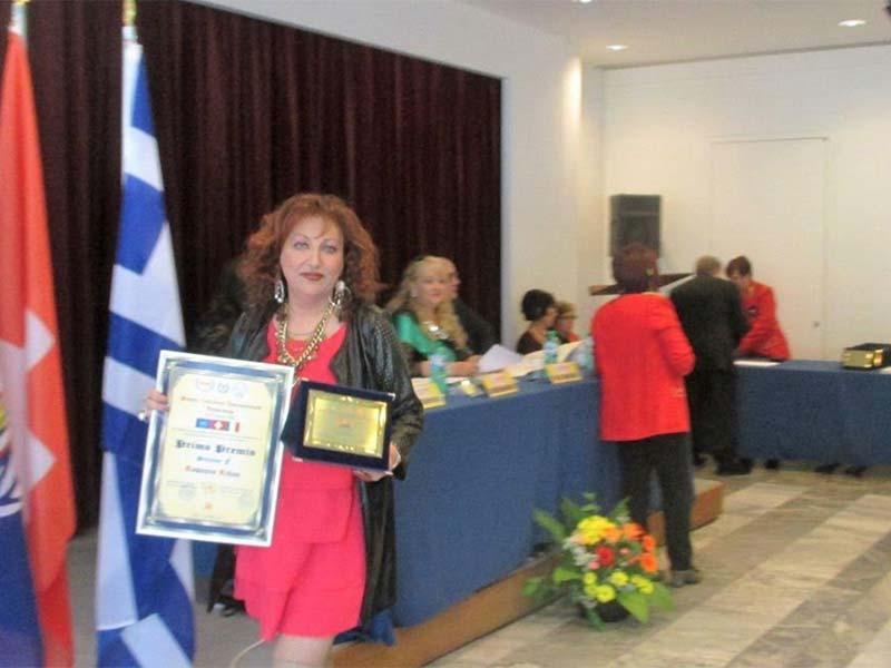 """Premio Letterario Internazionale """"Universum"""" XXVII Edizione 2016"""