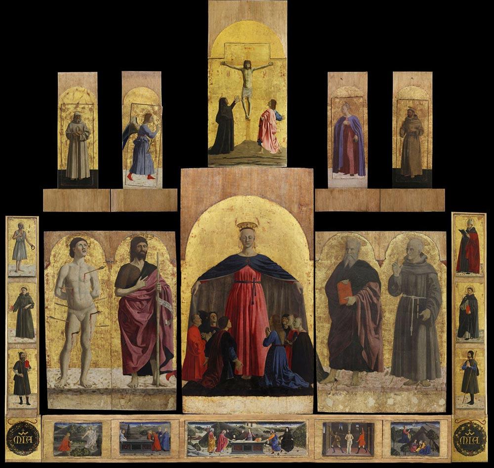 Piero della Francesca, Polittico della Misericordia