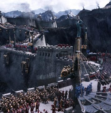 The Great Wall di Zhang Yimou