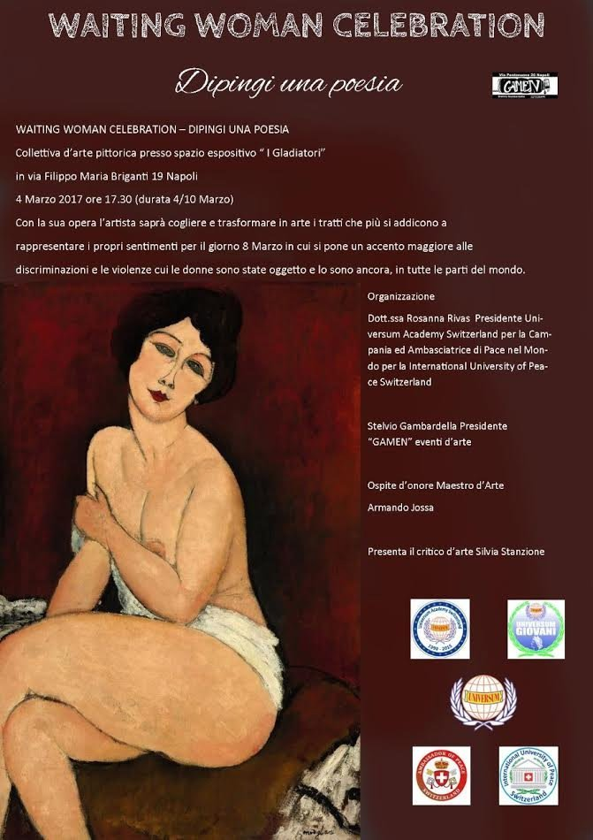 Waiting Woman Celebration - Dipingi una poesia